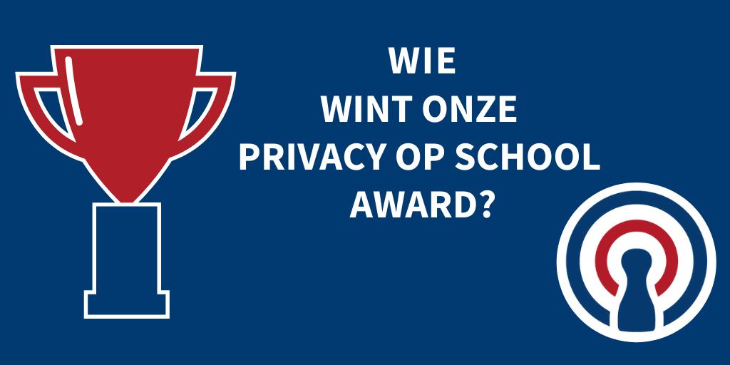 De Vier Windstreken wint eerste Privacy op School Award